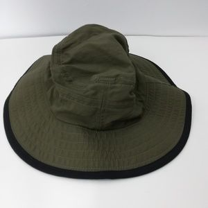 Lands End Fisherman Hat Size S/M Bucket Cap Nylon